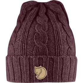 Fjällräven Braided Knit Hat dark garnet